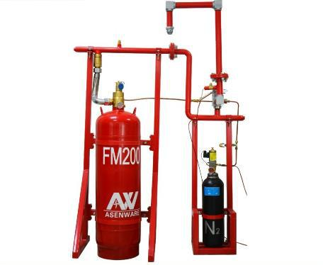 FM200钢瓶检测充气