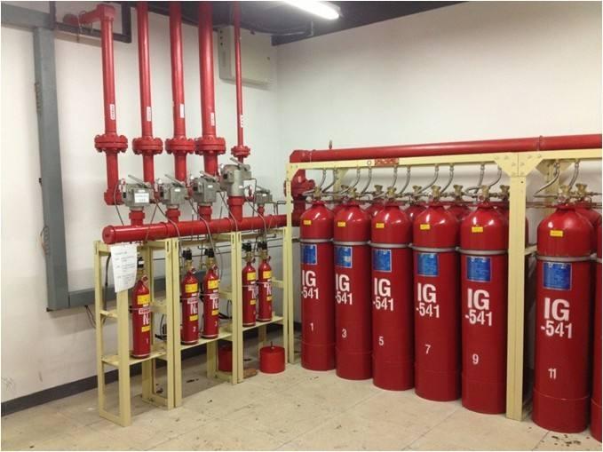 IG541钢瓶检测充气